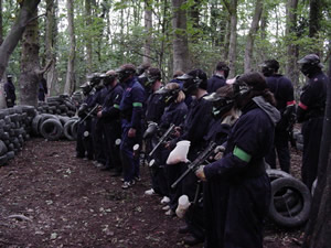 Paintballing Bodenham, Hereford