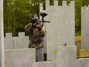 Paintballing Sheffield