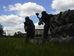 Paintballing Bricketwood, St Albans